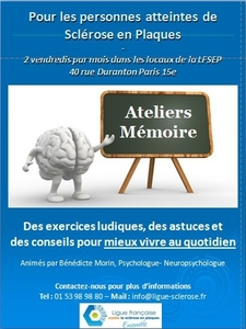 Ateliers Mémoire Ligue
